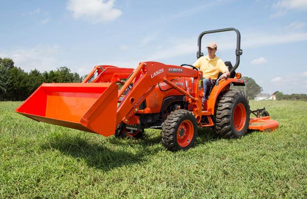 Kubota B2501 Compact Tractor Loader