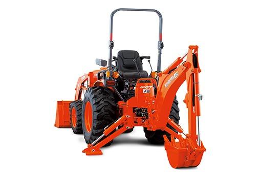 Kubota B2650 Tractor BH70 Backhoe