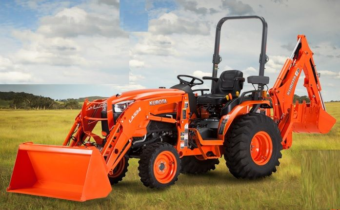 Kubota B2650 compact tractor