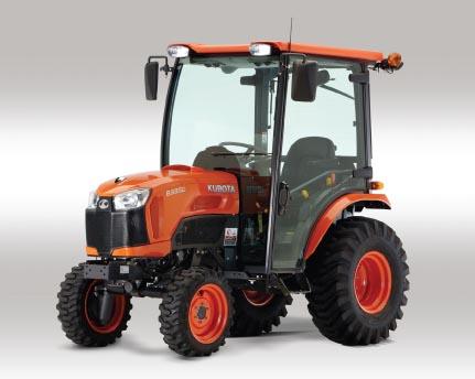 Kubota B3350 Compact tractor dimension