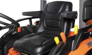 Kubota B3350 Deluxe Suspension Seat