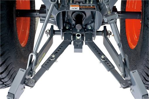 Kubota B3350 Telescoping Stabilizers
