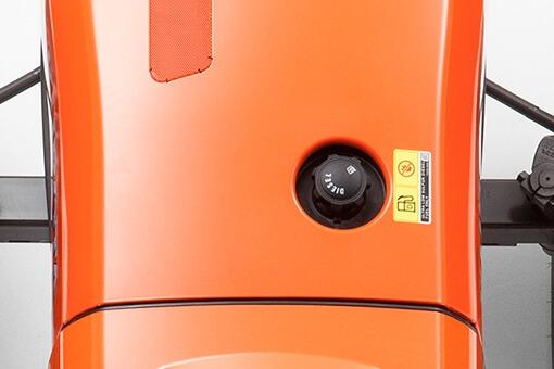 Kubota L2501 tractor Large Capacity Fuel Tank