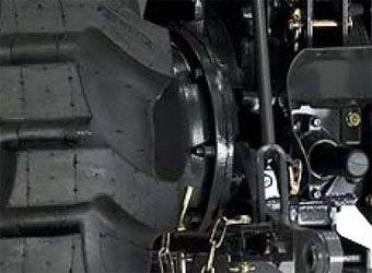 Kubota l4600 brakes