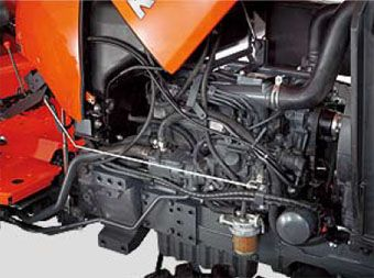 Kubota l4600 engine