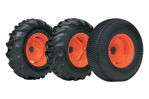 Kubota l4600 tires