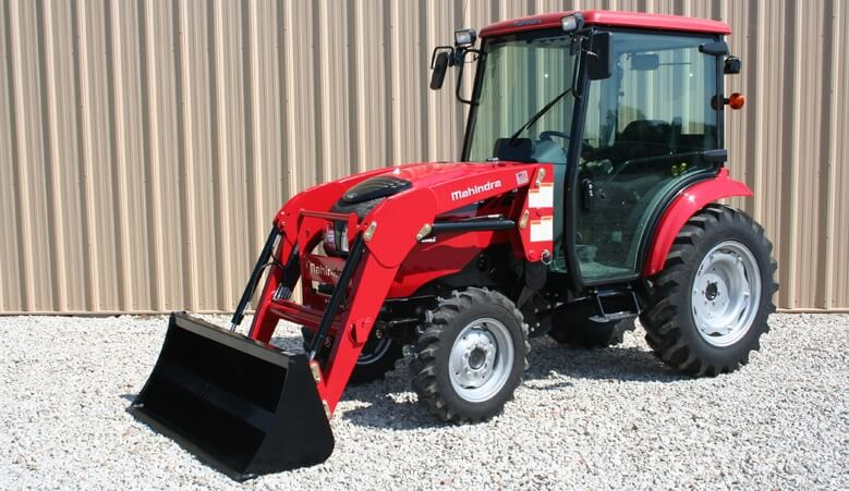 Mahindra 1538 HST Cab Compact Tractor