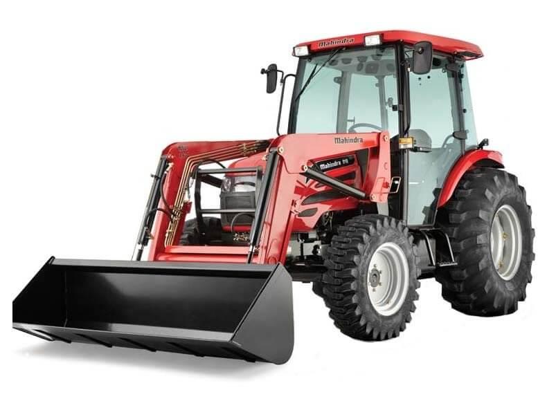 Mahindra 2565 Shuttle Cab tractor
