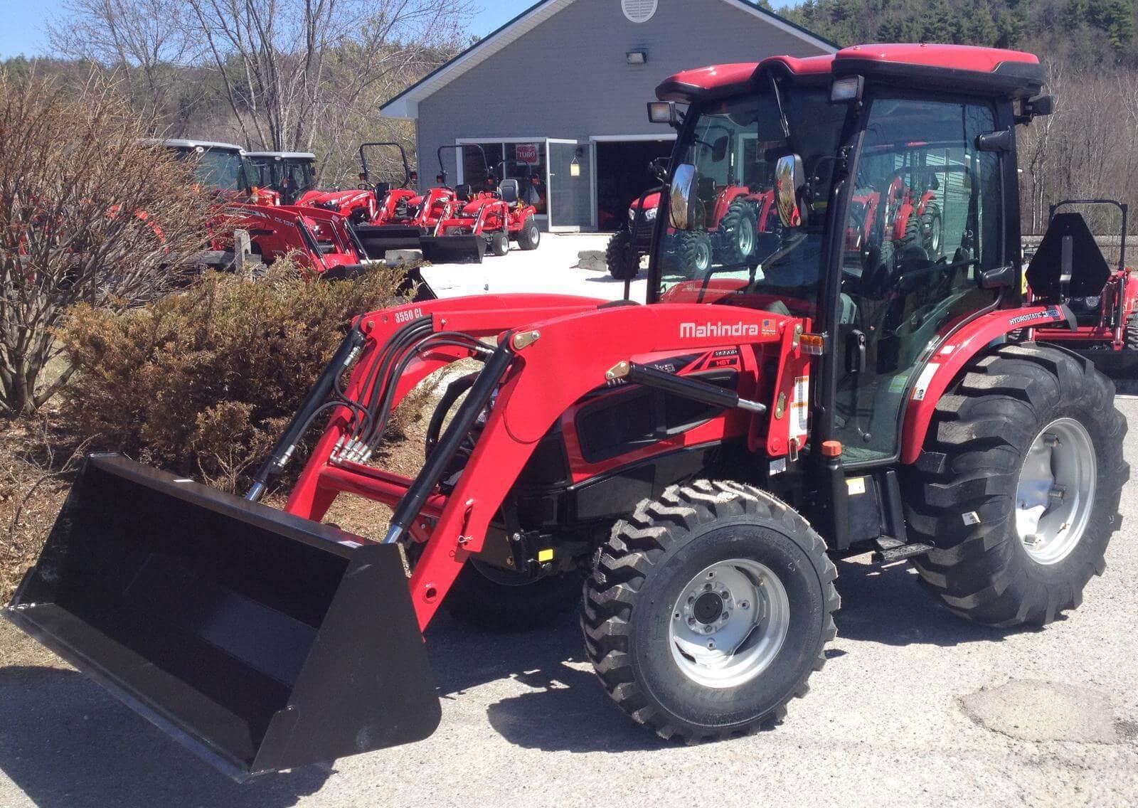 Mahindra 3550 4WD PST Cab tractor