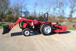 Mahindra 4550 2WD Utility Tractor