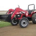 Mahindra 5555 4WD Utility Tractor