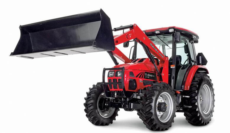 Mahindra MPOWER 85P Cab Utility Tractor