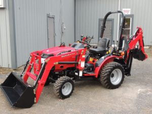 Mahindra Max 24 4WD HST tractor