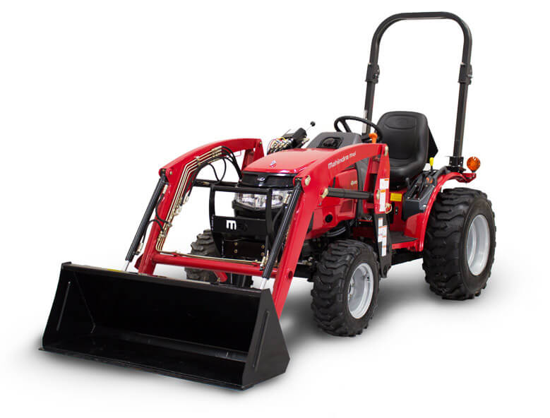 Mahindra Max 26XL 4WD HST tractor