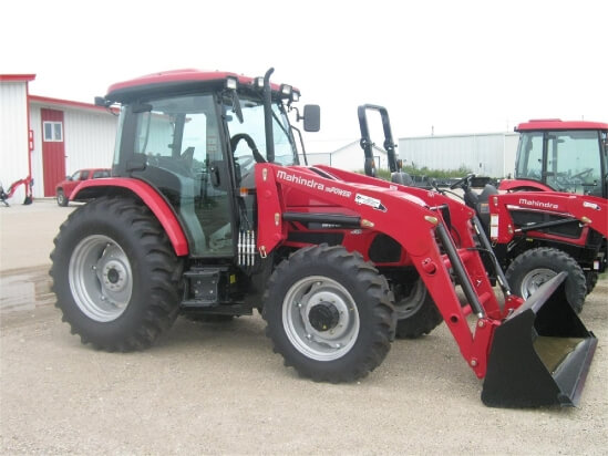 Mahindra mPower-75-P-Cab tractor