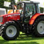 MF 5455 tractor Tire