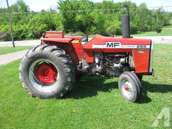 massey ferguson 255 tractor hydralics