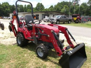 Massey Ferguson GC1710 compact tractor