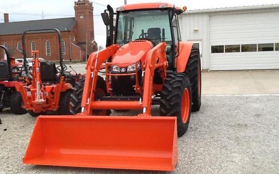 Kubota M6S 111SDSC Tractor