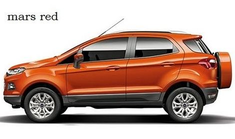 Ford EcoSport Car Specification