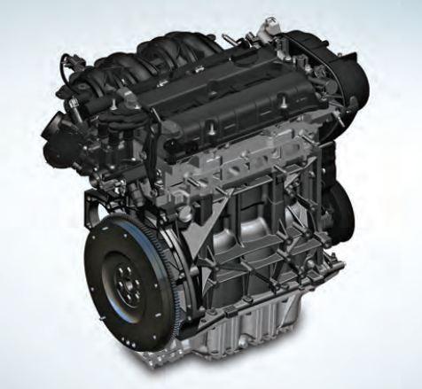Ford EcoSport 1.5l TDCI Diesel engine