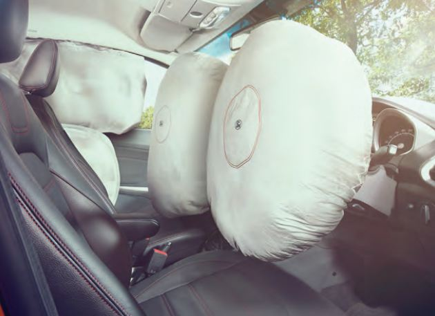 Ford EcoSport car Air bags