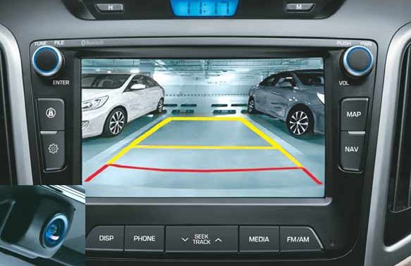 Hyundai Creta Car Rear Parking Assistant System