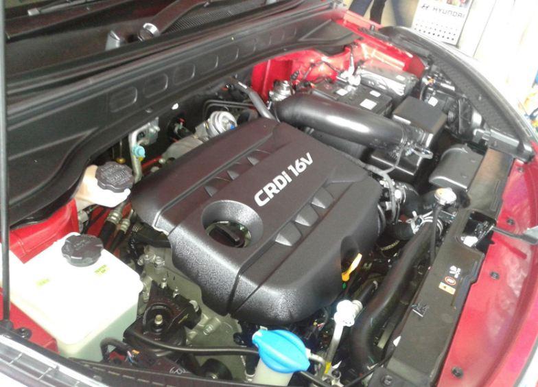 Hyundai Creta Car engine