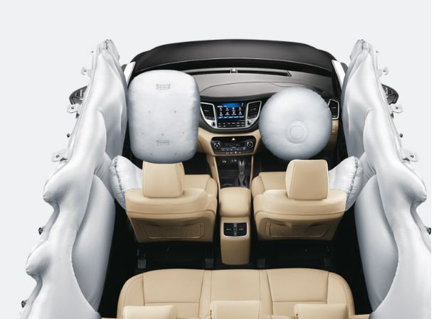 Hyundai Tucson Car 6 Air Bag System