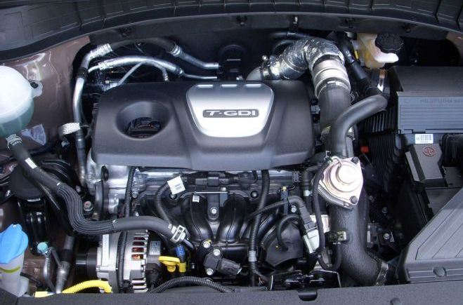 Hyundai Tucson engine
