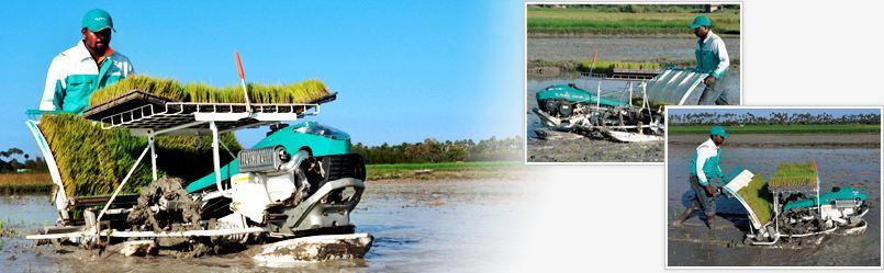 Kubota NSP- 4W Rice Transplanter 2