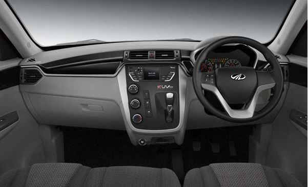 Mahindra KUV 100 interior