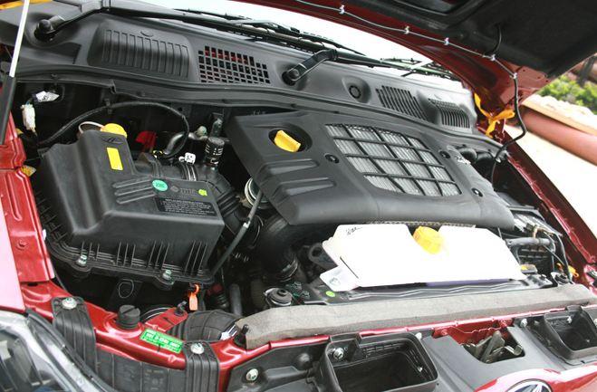Mahindra NuvoSport engine
