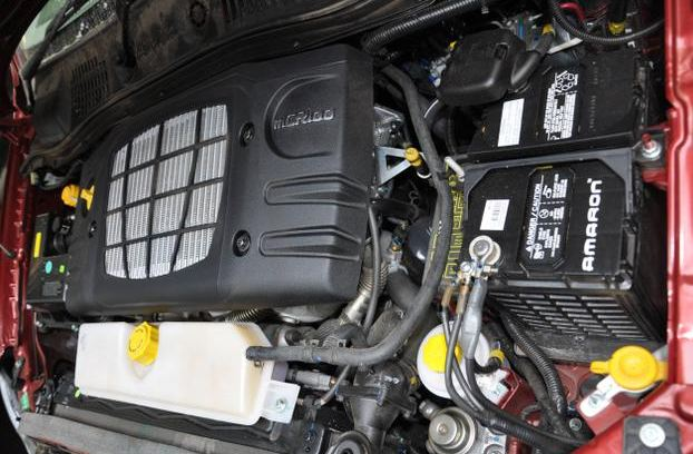 Mahindra Quanto car engine