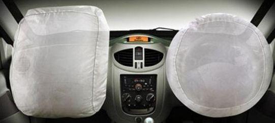 Mahindra Quanto dul air bags