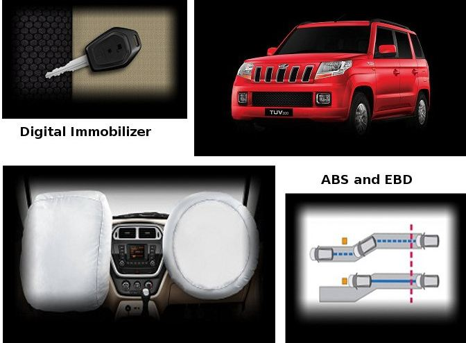 Mahindra TUV300 safety