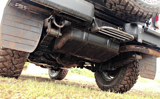 Mahindra Thar CRDE suspension