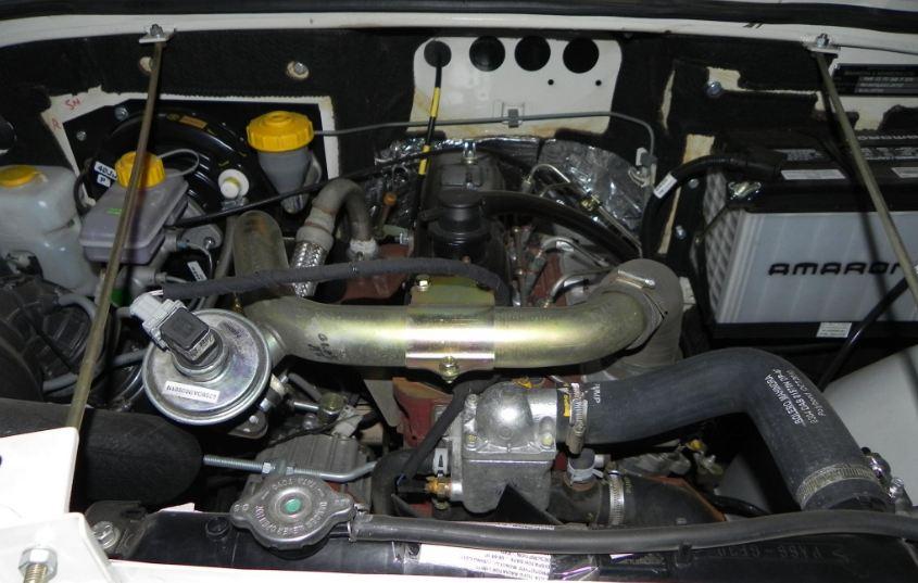 Mahindra Thar DI engine