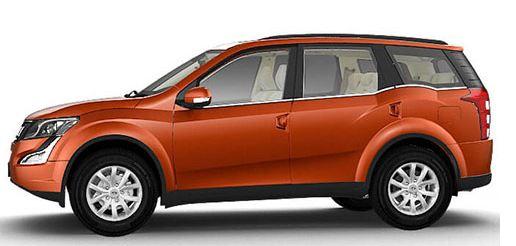 Mahindra XUV500 car W8