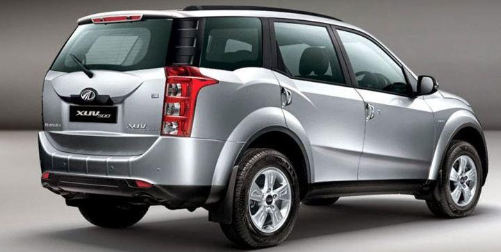 Mahindra XUV500 car exterior