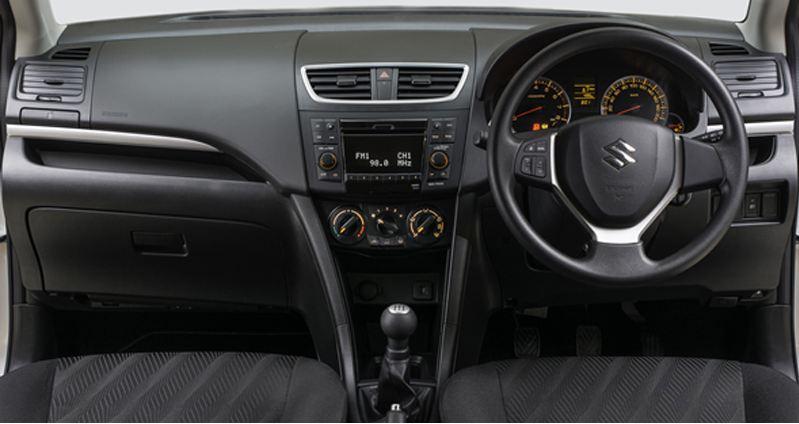 Maruti Suzuki Swift Car interior