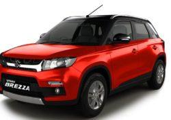 Maruti Suzuki Vitara Brezza car