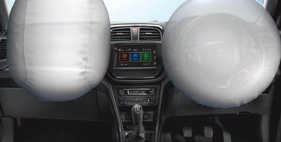Maruti Suzuki Vitara Brezza car safety