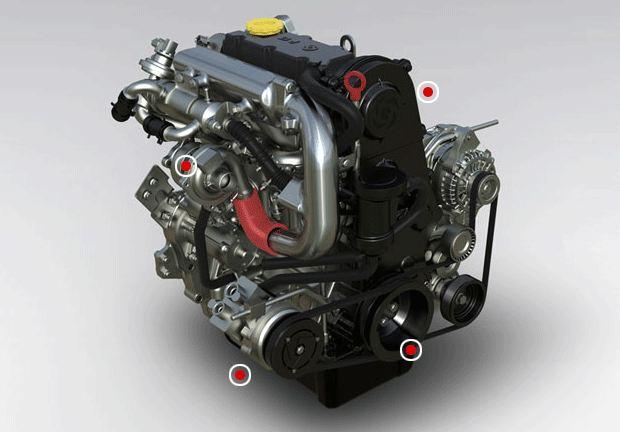 Ashok Leyland Dost 2.85 T Engine