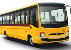 Bharat benz school bus