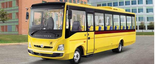 Bharat benz school bus 3