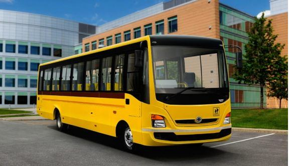 Bharat benz school bus 4
