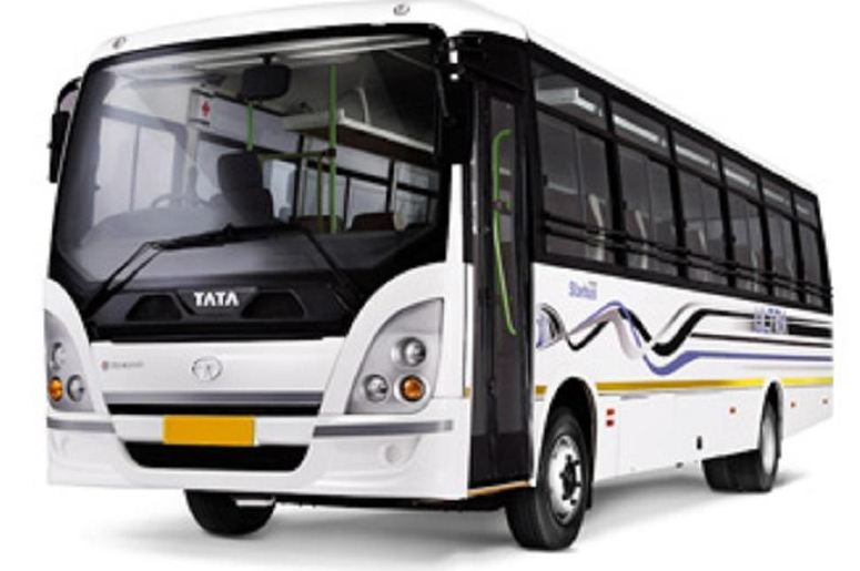Bharat benz staff bus 1