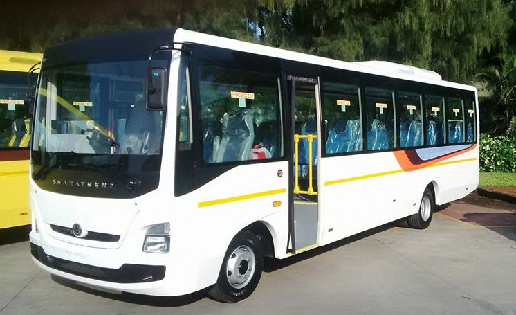 Bharat benz tourist bus 1