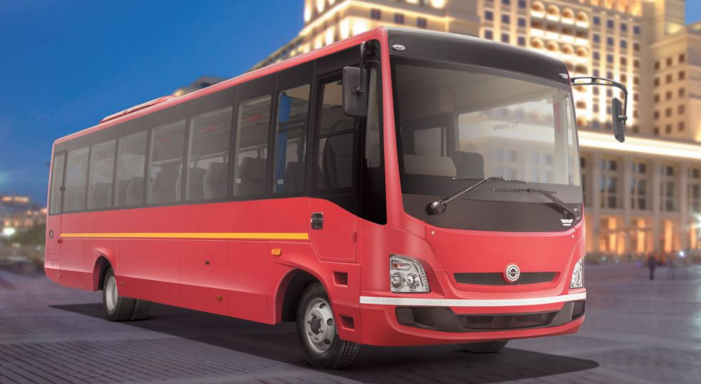 Bharat benz tourist bus